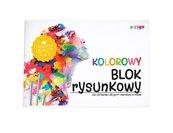 Blok rysunkowy kolorowy barwiony A4/20K (10szt)