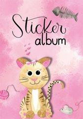 Album na naklejki - Kot