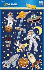 Naklejki foliowe błyszczące - Kosmos