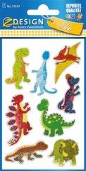 Naklejki brokatowe - Dinozaury