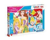 Puzzle 104 Supercolor Disney Princess