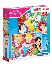 Puzzle 2x20 Super Color Prnicess