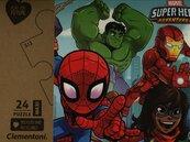 Puzzle 24 Maxi Play for Future Marvel Super Hero Adventures