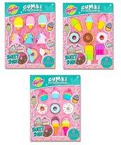Gumki do ścierania Puzzle Sweet Shop mix STnux