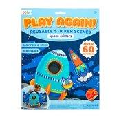 Naklejki wielorazowe Play Again - Kosmos