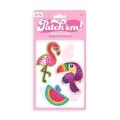 Naprasowanki Patch Em - Tropikalne Ptaki