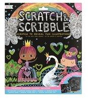 Zdrapywanki Scratch & Scribble Ogród Księżniczki