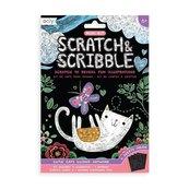 Zdrapywanki Mini Scratch & Scribble Kotki
