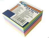 Karteczki samoprzylepne 50x50mm 250K. 80811 mix