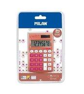 Kalkulator kieszonkowy Copper róż MILAN