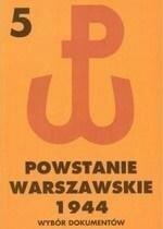 Powstanie Warszawskie 1944 T.5