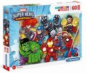 Puzzle 60 Super Kolor Superhero maxi