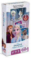 Kraina Lodu 2 gra karciana z figurkami Elsa i Olaf