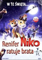 Renifer Niko ratuje brata DVD