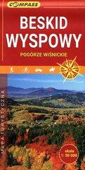 Beskid Wyspowy Pogórze Wiśnickie mapa turystyczna 1: 50 000