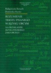 Rozumienie tekstu pisanego w języku obcym...