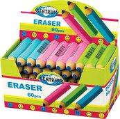 Gumka do ścierania w kształ. ołówka (60szt) 80560