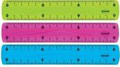 Linijka plastikowa Flexible 15cm 86638