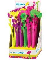 Długopis kulkowy Fancy Flower 80415 nieb. (36szt)