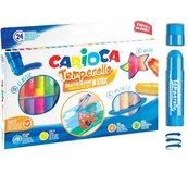 Farby w sztyfcie 24 kolory CARIOCA