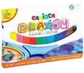 Plastelina 150g 12 kolorów CARIOCA