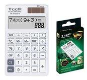 Kalkulator dwuliniowy 10-pozyc. TR-310DB-W TOOR