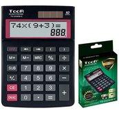 Kalkulator dwuliniowy 10-pozyc. TR-2429DB-K TOOR