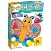 Carotina Baby Motylki, kształty i kolory
