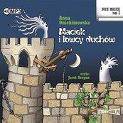 Duch Maciek T.2 Maciek i łowcy duchów audiobook