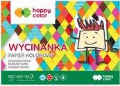 Blok Wycinanka A5/10K 100g HAPPY COLOR