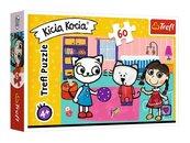 Puzzle 60 Kicia Kocia z przyjaciółmi TREFL