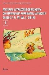 Materiał wyrazowo-obrazkowy... głosek F, Fi, W, Wi