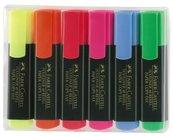Zakreślacz 6 kolorów FABER CASTELL