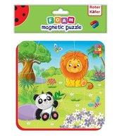 Miękkie magnetyczne puzzle Lew i Panda