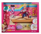 Barbie Zestaw Lalka gimnastyczka