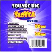 Koszulki Square Big 80x80mm (100szt) SLOYCA