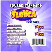 Koszulki Square Standard 70x70mm (100szt) SLOYCA