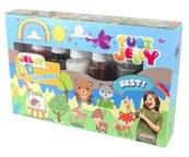 Tubi Jelly 6 kolorów - Zwierzątka TUBAN