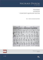 Vesperae. Liturgia. Concerti quatuor vocum