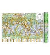 Mapa zdrapka - Tatry 1:50 000