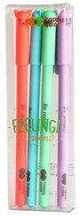 Długopis żelowy Feelingi Cats 4szt HAPPY COLOR