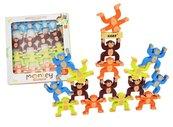 Drewniane małpki akrobatki