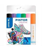 Marker permanentny Pintor Fun 6 kolorów PILOT