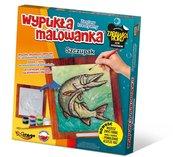 Wypukła Malowanka Ryba - Szczupak