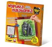 Wypukła Malowanka Zoo - Goryl