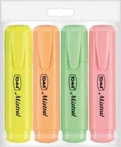 Zakreślacz Mistral Pastel 4 kolory TOMA