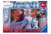 Puzzle 2x24 Frozen 2