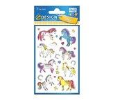 Naklejki papierowe błyszczące - Konie