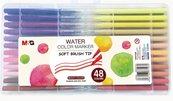 Pisak artystyczny pędzelkowy 48 kolorów M&G
