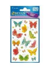 Naklejki papierowe - Motyle